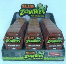S.L.U.G. ZOMBIES Mystery Packs Series 1 Slug Zombie full case mini coffin
