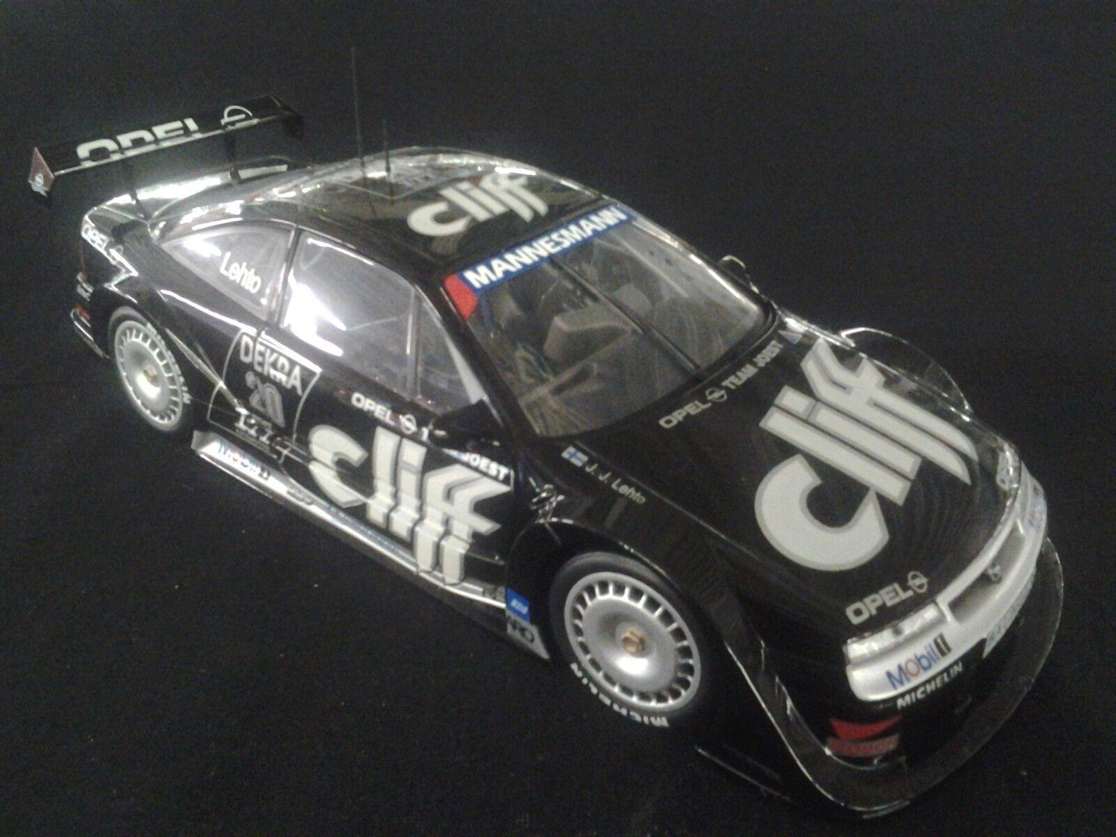 en promociones de estadios UT UT UT Models Opel Calibra V6 4x4 DTM 1995 1 18  20 J.J. Lehto (FIN) (MCC)  servicio honesto