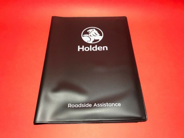 92507987 genuine holden owner s wallet for owners manual service rh ebay com au Holden VE Commodore Omega Engine Holden Commodore Omega