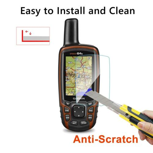 RUIYA 2pcs Garmin GPSMAP 62s 64s 64sc GPS Tempered Glass Screen Protector