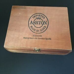 ASHTON-Magnum-vuota-in-legno-Cigar-Box-9-5-034-x-7-6-034-x-3-2-034-Bx-6