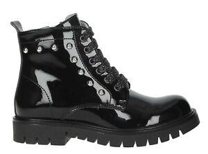 NERO-GIARDINI-TEENS-scarpe-donna-tronchetto-stivali-stivaletti-anfibi-zeppa
