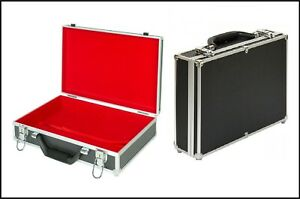 Lindner-2338o-Large-coin-case-ALU-Black-Inside-Red-to-The-Yourself-Equip