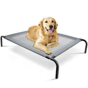 Elevated-Dog-Bed-Lounger-Sleep-Pet-Cat-Raised-Cot-Hammock-for-Indoor-Outdoor