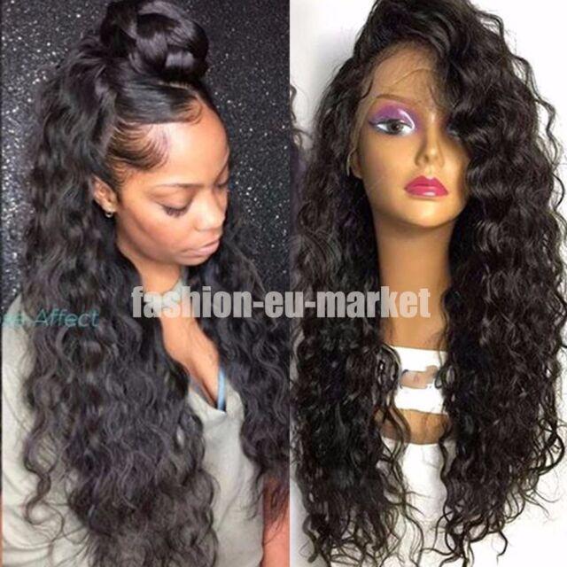 Brazilian Virgin Human Hair Wigs Long Body Wave  Human Hair Wigs With Baby Hair
