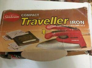 Portable-Traveller-Iron-Steam-Electric-Mini-Sunbeam