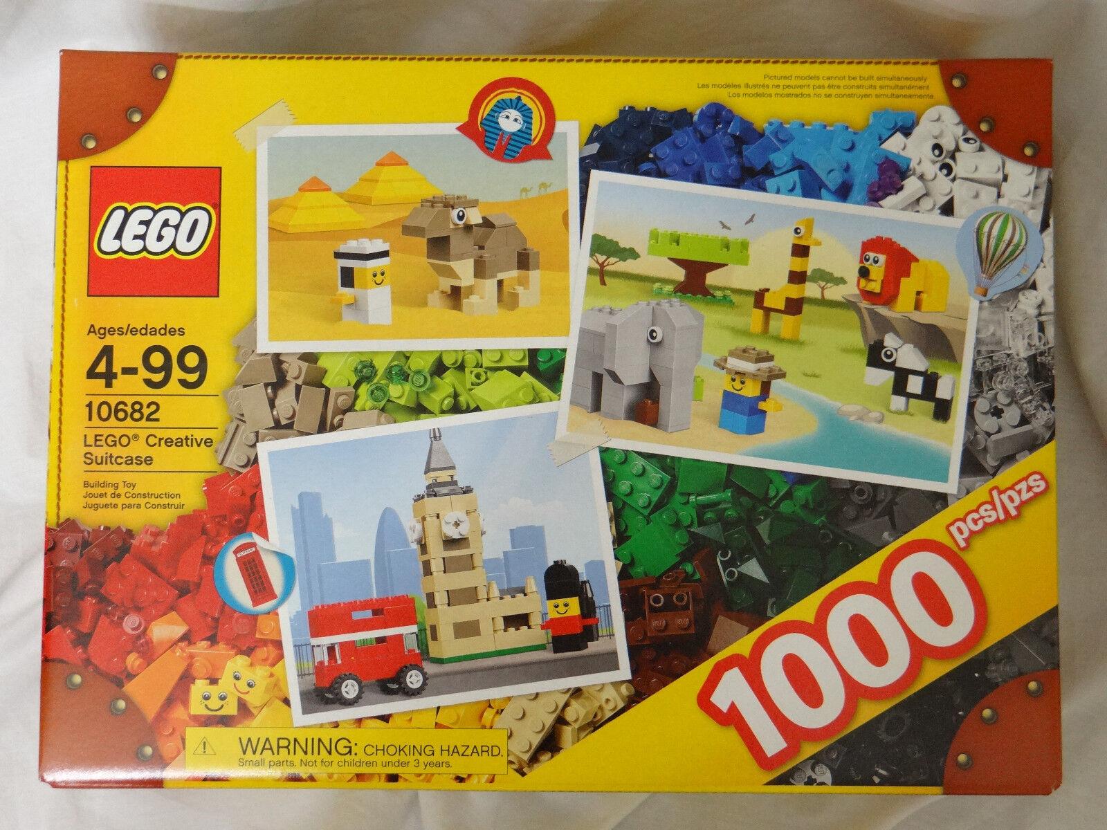 Lego Set 10682 Creative Maleta 1000 Pieza edificio Caja Nuevo Y Sellado De Fábrica