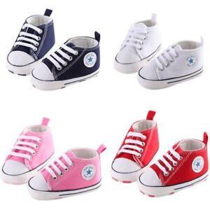 8e9d8a2cda3d34 Toddler Boy Shoes Sneaker Sole 0-18 Months Soft Crib Girl Newborn ...
