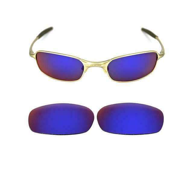 NEW REPLACEMENT LIGHT +RED LENS FOR OAKLEY SQUARE WIRE 2.0 SUNGLASSES