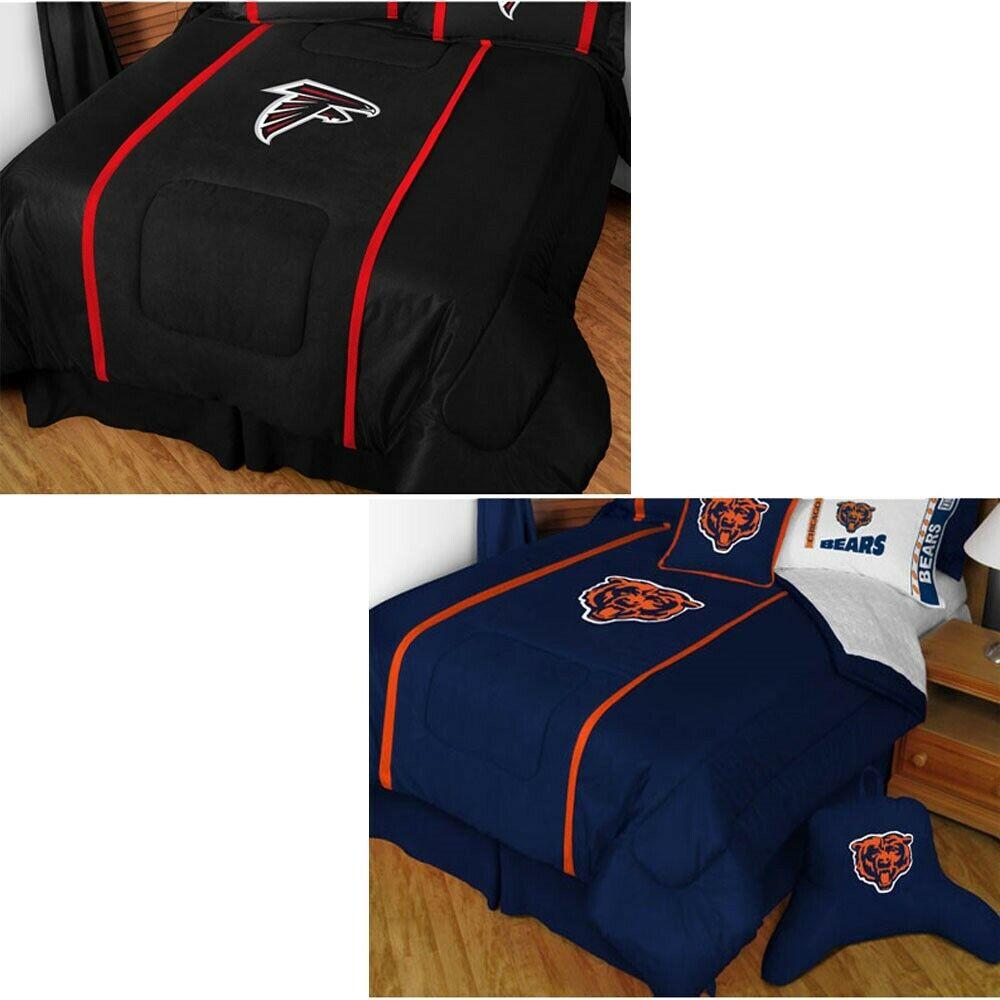 NEw NFL FOOTBALL COMFORTER - Sports League Team Logo MVP Bedding Cover Blanket