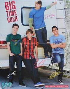 BIG-TIME-RUSH-A2-Poster-XL-40-x-52-cm-Fan-Sammlung-Clippings-Ausland-USA