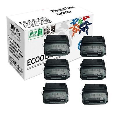 5 pk Q5942A Toner Cartridge for 4350dtnsl tn 4350tn n 4350 dtnsl Printer