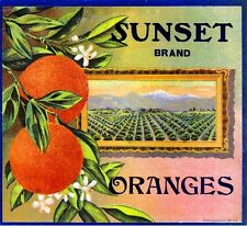 Lemon Grove San Diego County On Honor Orange Citrus Fruit Crate Label Art Print