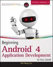 Beginning Android 4 Application Development, Lee, Wei-Meng, Good Book