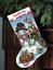 Dimensiones-Oro-contado-Cross-Stitch-Kit-Navidad-Stocking-Santa-Muneco-de-nieve miniatura 6