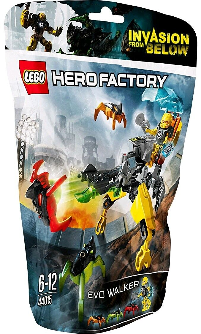 LEGO HERO FACTORY   44015 EVO WALKER   NEW SEALED✔  RARE ✔ FAST P&P✔
