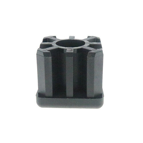 2 Pack Heavy Duty Square Threaded Insert 30mm x 30mm M12 Thread Tube Fittings