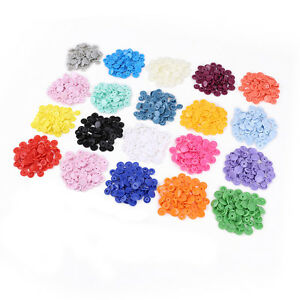 300-Sets-KAM-Snap-Kits-Plastic-Snaps-Fastener-Buttons-Press-Stud-Set-Size-20-T5