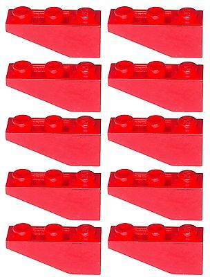 Missing Lego Brick 4287 Red X 10 Slop Brick 33 1 X 3 Inverted