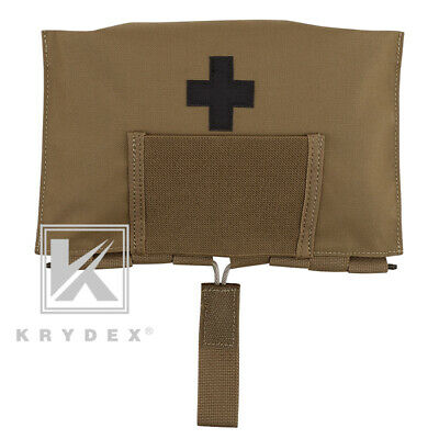 KRYDEX LBT-9022B-T First Aid Kit Pouch MOLLE Medical Bag Storage Coyote Brown