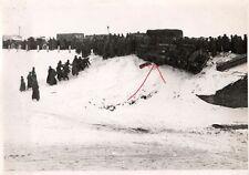 15391/ Originalfoto 7x10cm, LKW Bergung, Rollbahn, Russland