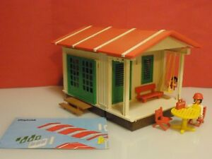 Playmobil-bungalow-casa-de-campo-ocio-y-veraneo-ref-3771-anos-80
