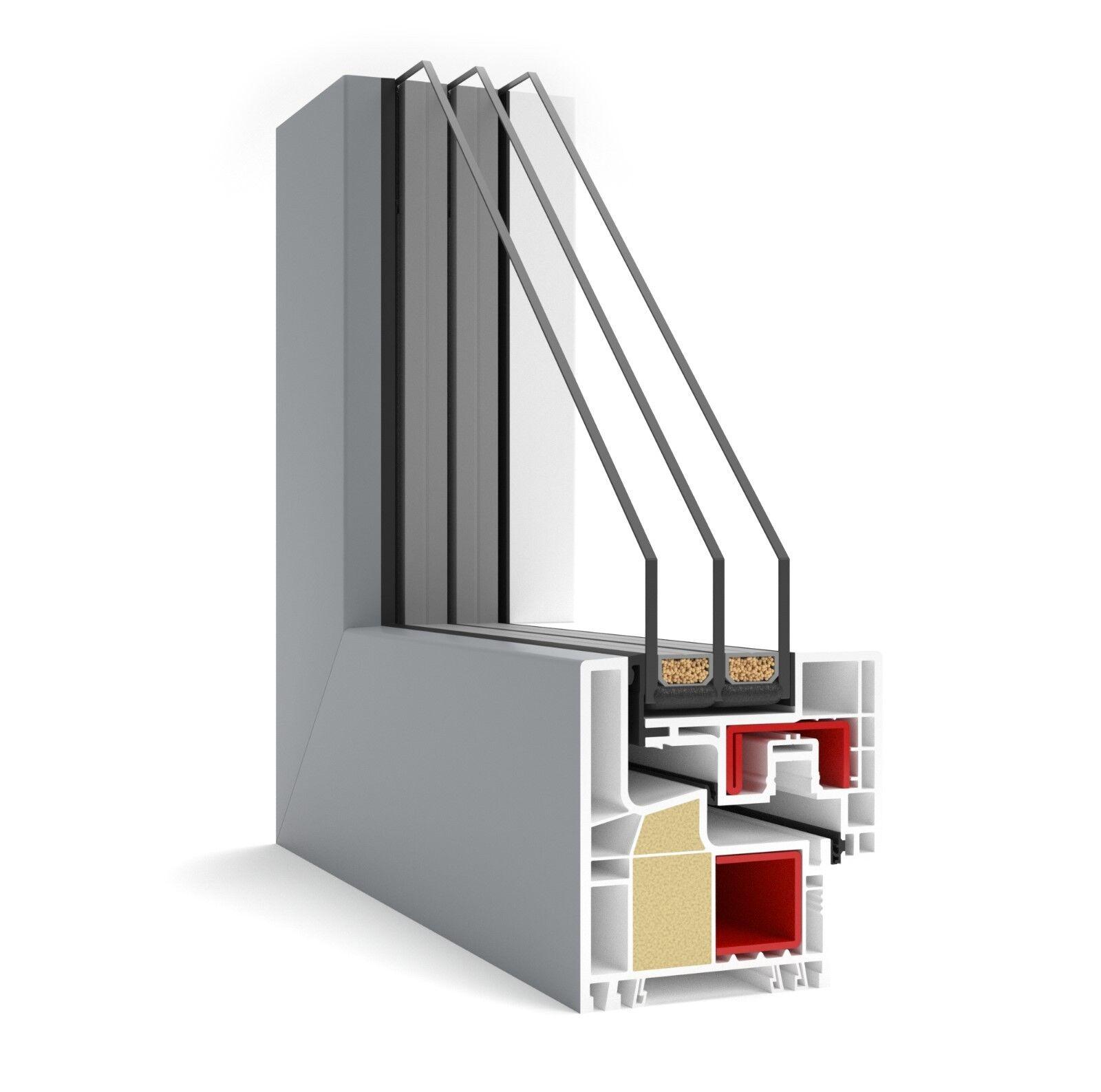 Kunststoff-Fenster Gealan Kubus aus Polen Preiswerte Fenster