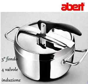 Pentola-a-pressione-3-5-5-7-9-litri-triplo-fondo-4-valvole-sicurezza-ABERT