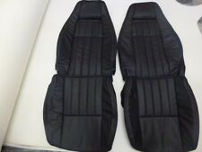 1979-1983 Datsun 280ZX Synthetic Leather Black Seat Covers