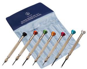 Orologiai-Jewellers-Cacciavite-Set-di-7-con-pale-reversibili-Watch-Repair