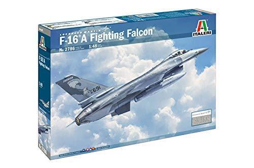 F-16A Fighting Falcon Fighter Plastic Kit 1 48 Model 2786 ITALERI