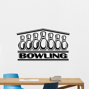 Image Is Loading Bowling Wall Decal Skittles Logo Sports Vinyl Sticker