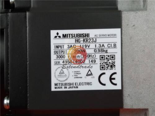 Mitsubishi HG-KR23J Servo Motor