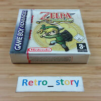 Nintendo Game Boy Advance Gba The Legend Of Zelda The Minish Cap Neuf / Pal