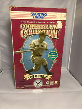 MLB Sports Action Figure Lou Gehrig N.Y. Yankees Starting Lineup 12""