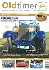 Oldtimer Odborny magazin 9/2015 Hispano Suiza H6B Ford Transit 1966 Smal block