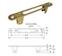 Optional Faceplate For Round Face Mortise Locks