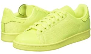 Image is loading Adidas-Originals-Mens-Stan-Smith-Trainers-Solar-Yellow- 2702494284