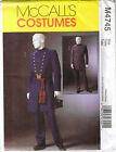 Mccall's Men's Civil War Costumes Uncut Pattern M4745