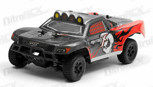 MicroX Racing 1/24 Scale Micro Short Course RC Truck RTR Ready to Run 2.4Ghz RED