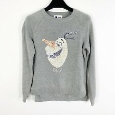 Disney Frozen Girls Olaf Cute and Huggable Crew-Neck Sweatshirt