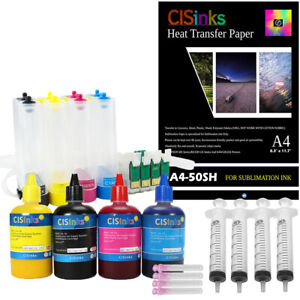 Empty-Continuous-Ink-System-Sublimation-Epson-Workforce-WF-2750-2760-with-Paper