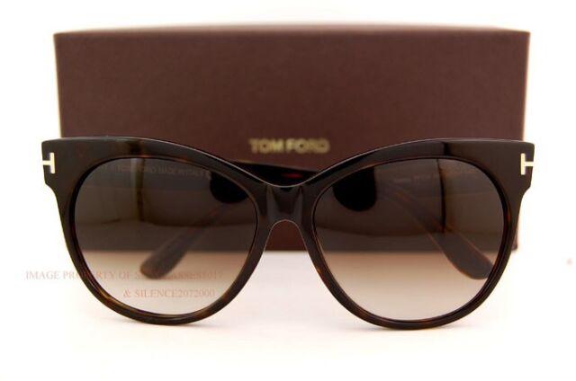 eec410d20bc99 Brand New Tom Ford Sunglasses TF 0330 330 Saskia 56F Havana Brown For Women