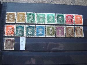 Germany-Stamp-yt-N-379-A-389-Obl-Germany