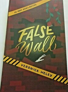 False-Wall-by-Veronica-Heley-2019-Paperback-New-Mystery