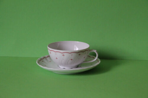Seltmann Weiden Regina Rouge Lily couvert tasse avec soucoupe tasse 26857