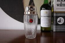 QUIST classy Shaker Cocktailshaker Glas 60er EISGLAS 60s W. Germany True VINTAGE