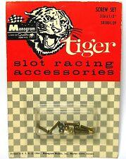 """1964 Monogram Tiger Slot Car Racing Accessories 2-56 x 1/2"""" SCREW SET #SR1804"""
