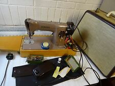 Heavy Duty Singer 201K Electric Sewing Machine,sews Leather, Serviced & PAT test