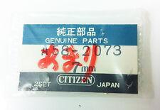 CITIZEN A58-2073 GOLD TONE MINUTE HANDS 2 PCS 7MM ORIGINAL GENUINE NOS
